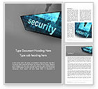 Technology, Science & Computers: Hardware Security Services Word Template #13058