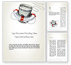Financial/Accounting: Financial Rescue Word Template #13099