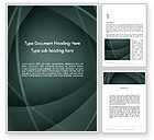 Abstract/Textures: Abstract Diaphragm Style Word Template #13112