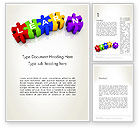 Education & Training: Learn Puzzle Word Template #13124