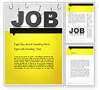 Careers/Industry: Vacancy Word Template #13132