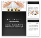Legal: Idea Protection Word Template #13144