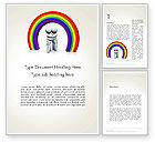 3D: LGBT Word Template #13149