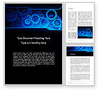 Business Concepts: Modello Word - Abstract blue orologio #13167