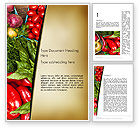 Food & Beverage: Healthy Diet Plan Word Template #13181