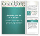 Education & Training: Business Communication Coach Word Template #13201