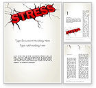 Medical: Heavy Stress Word Template #13220
