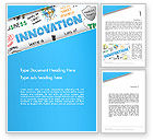 Business Concepts: Innovation Sketch Word Template #13239