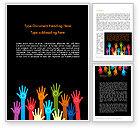 Business Concepts: Modèle Word de atteindre les objectifs #13259