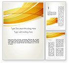 Abstract/Textures: Modello Word - Giallo onde sovrapposte #13322