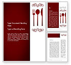 Food & Beverage: Restaurant Presentation Word Template #13356