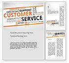 Careers/Industry: Customer Service Word Cloud Word Template #13359