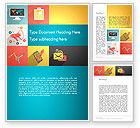 Business Concepts: Concept Met Vlakke Pictogrammen Word Template #13415