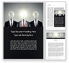 Business Concepts: Turning Ideas Word Template #13417