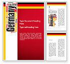 Flags/International: Modelo do Word - nuvem de palavra da alemanha #13432