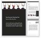 Careers/Industry: Social Bookmarking Word Template #13456