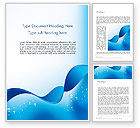 Abstract/Textures: Abstract Sparkling Water Word Template #13460