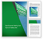 Education & Training: Training Courses Word Template #13461