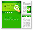 Nature & Environment: Green Technologies Word Template #13469