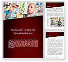 Business Concepts: Ingenious Word Template #13475