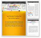 Business Concepts: Startup Plan Word Template #13492