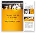Financial/Accounting: Financial Benchmarking Word Template #13505