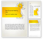 Business Concepts: Solution Key Word Template #13537