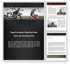 Education & Training: Compete Word Template #13538