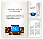 Careers/Industry: Traveling Mood Word Template #13539