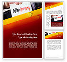 Education & Training: Online Learning Services Word Template #13543
