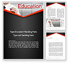 Education & Training: Personal Improvement Word Template #13544