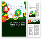 Education & Training: Back To School Background Word Template #13588