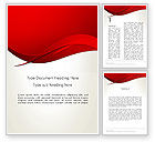 Abstract/Textures: Red Flame Golfsamenvatting Word Template #13602