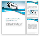Education & Training: Training Course Sign Word Template #13604