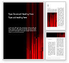 Abstract/Textures: Abstract Vertical Red Strings Word Template #13609