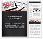 Education & Training: Denken groß Word Vorlage #13631