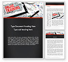 Education & Training: Thinking Big Word Template #13631