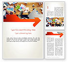 Careers/Industry: Graphic Design Meeting Word Template #13661