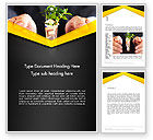 Financial/Accounting: Growing Startup Word Template #13662