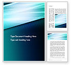 Abstract/Textures: Diagonal Lines and Glow Word Template #13676