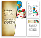 Education & Training: Back to School Supplies Word Template #13682