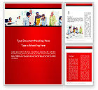 People: People Working on Project Word Template #13692