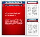 America: American Independence Word Template #13698