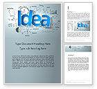 Business Concepts: Big Ideas Inspiration Word Template #13712