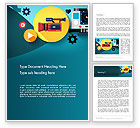 Careers/Industry: Video Gadgets Word Template #13728