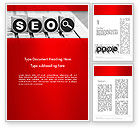 Careers/Industry: SEO Services Word Template #13736