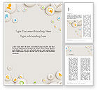 Careers/Industry: Scattering of Badges with Icons Word Template #13745