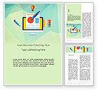 Careers/Industry: Document Design Word Template #13772