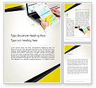 Financial/Accounting: Accounting Services Word Template #13792