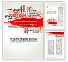 Consulting: Risk Management Word Cloud Word Template #13809